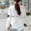เสื้อผ้าเกาหลีพร้อมส่ง เสื้อเชิ๊ทสวยเก๋ใส่ได้หลายโอกาส thumbnail 7