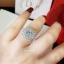 พร้อมส่ง แหวนเพชร CZ แท้ เพชรหน้ากว้าง 4 กะรัตสวยๆ thumbnail 5