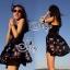 ชุดเดรสเกาหลี พร้อมส่ง Mini Dress ลุคนี้ให้สไตล์คุณหนูแสนซน แอบเปรี้ยวเล็กน้อย thumbnail 6