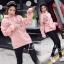เสื้อผ้าเกาหลีพร้อมส่ง เสื้อกันหนาวแบบมีฮู้ด thumbnail 2