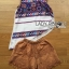 เสื้อผ้าเกาหลี พร้อมส่งเซ็ตเสื้อแขนกุดพิมพ์ลายและขาสั้นคอตตอนปักลายสไตล์ฮิปปี้ thumbnail 14