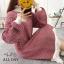 เสื้อผ้าเกาหลีพร้อมส่ง เสื้อไหมพรม แบบสวมคอเต่า thumbnail 14