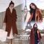 เสื้อผ้าเกาหลีพร้อมส่ง Overcoat เนื้อผ้าสำลีสีพื้นเนื้อแน่น thumbnail 5