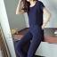 ชุดเซท เสื้อ+กางเกง เซท 2 ชิ้น ผ้าฝ้ายแบบนิ่มๆ thumbnail 4