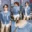 เสื้อผ้าแฟชั่นเกาหลีพร้อมส่ง เสื้อแจคแก็ตแขนยาวงานยีนส์ผ้าฟอกนิ่ม thumbnail 8