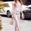 เสื้อผ้าเกาหลีพร้อมส่ง T-Shirt Lace Sweet Pastel Set thumbnail 4