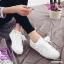 รองเท้าผ้าใบสไตล์เกาหลีสายริบบิ้น thumbnail 8