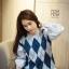 เสื้อผ้าเกาหลีพร้อมส่ง งานดีผ้าไม่คันใส่สบาย เหมือนจบจากไฮสคูลที่ บอสตันเลยจ้า thumbnail 1