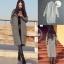 เสื้อผ้าเกาหลีพร้อมส่ง เสื้อคลุมไหมพรมเนื้อนิ่มมาก thumbnail 2