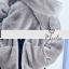 เสื้อผ้าเกาหลีพร้อมส่ง เสื้อกันหนาวหนานุ่มตัวกว้าง มีฮู้ดหูหมีน่ารักจริงจัง thumbnail 7