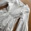 เสื้อผ้าเกาหลีพร้อมส่ง เสื้อยาวผ้าคอตตอนสีขาวตกแต่งลูกไม้สไตล์วินเทจ thumbnail 12