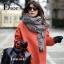 เสื้อผ้าเกาหลีพร้อมส่ง ผ้าพันคอปัก Dior ตัวป้าย แท็ก ทั้งหมดเป็น Dior thumbnail 2