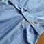 ชุดเดรสเกาหลีพร้อมส่ง เดรสผ้าคอตตอนสีฟ้าลายทางแขนระบาย thumbnail 6