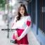 เสื้อผ้าเกาหลีพร้อมส่ง ขาวแดงงานดีก็มาคร้าาาาาา เหมือนเด็กญี่ปุ่นจริงงๆ thumbnail 6