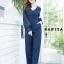 เสื้อผ้าเกาหลีพร้อมส่ง จั้มสูทขายาวทรงสวยห้ามพลาดเลยจ้าตัวนี้ thumbnail 9