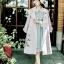 เสื้อผ้าแฟชั่นเกาหลีพร้อมส่ง เสื้อคลุมทรงโค้ท สไตล์เกาหลี thumbnail 6