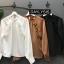 เสื้อผ้าเกาหลีพร้อมส่ง เสื้อคอปีนกระดุมหลังคอ thumbnail 1
