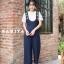 เสื้อผ้าเกาหลีพร้อมส่ง เซทเอี้ยมเนื้อผ้าดีเว่อร์ ไม่ยับมาเป็นเอี้ยมทรงสวย thumbnail 2