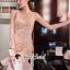 ชดเดรสเกาหลีพร้อมส่ง Princess Lace Vee Flora Print Dress thumbnail 5