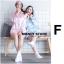 เสื้อผ้าเกาหลีพร้อมส่ง อยากฝันดี ใส่ชุดนอนอันนี้จี้ thumbnail 2