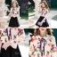 เสื้อผ้าเกาหลีพร้อมส่ง เสื้อเชิ้ตคอปกปริ้นลายดอก แบบ Gucci ดีไซน์เรียบหรู thumbnail 7