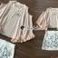 เสื้อผ้าเกาหลีพร้อมส่ง งานเซ็ทสวยหวานลุคสาวสไตล์เกาหลี thumbnail 5