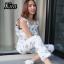 เสื้อผ้าเกาหลีพร้อมส่ง Jumpsuit สวยลงตัวในชุดเดียว thumbnail 7