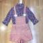 เสื้อผ้าแฟชั่นเกาหลีพร้อมส่ง Set 2 ชิ้นเสื้อคอเต่าแขน 4 ส่วน thumbnail 5