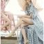 เสื้อผ้าเกาหลีพร้อมส่ง เชิ้ตเดรสผ้าคอตตอปักลายแพทเทิร์นดอกไม้ thumbnail 9