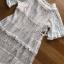 ชุดเดรสเกาหลีพร้อมส่ง เดรสยาวผ้าลูกไม้สีขาวงาช้างสไตล์โมเดิร์นโบฮีเมียน thumbnail 10