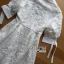 เสื้อผ้าเกาหลี พร้อมส่งเชิ้ตเดรสลูกไม้ตกแต่งคอตตอนสีขาวสไตล์ลำลอง thumbnail 15