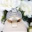 พร้อมส่ง Diamond Ring แหวนเพชรงานเพชร CZ แท้ thumbnail 1