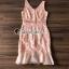 ชดเดรสเกาหลีพร้อมส่ง Princess Lace Vee Flora Print Dress thumbnail 7