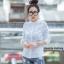 เสื้อผ้าเกาหลีพร้อมส่งเสื้อเชิ้ตลายตาราง thumbnail 5