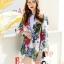 เสื้อผ้าแฟชั่นเกาหลีพร้อมส่ง เสื้อเบรเซอร์ แขนยาวแต่งคอปกมี 3 สี thumbnail 16