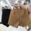 เสื้อผ้าเกาหลีพร้อมส่ง กางเกงขาสั้นเอวสูงแต่งลูกไม้ที่ ชายกางเกง thumbnail 4