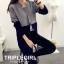 เสื้อผ้าเกาหลีพร้อมส่ง เสื้อคลุมยาวตัวแขนยาวสุดไฮ thumbnail 1