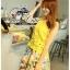 ( พร้อมส่ง) ชุดเซ็ทแบรนด์ ZARA ค่ะเสื้อลูกไม้ทรงกล้ามสีเหลืองสดใส ผ้าทอลูกไม้ลวดลายสวยๆเนื้อนิ่มมีซิปด้านหลังค่ะ มีซับในสายเดี่ยวให้นะคะ thumbnail 3