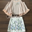 เสื้อผ้าเกาหลีพร้อมส่ง งานเซ็ทสวยหวานลุคสาวสไตล์เกาหลี thumbnail 4