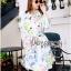 Emmie Elegant Spring Floral Coat with Belt thumbnail 4