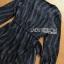 ชุดเดรสเกาหลีพร้อมส่ง มินิเดรสผ้าเครปสีดำพิมพ์ลายดาวสุดหรู thumbnail 10
