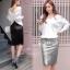 เสื้อผ้าเกาหลีพร้อมส่ง งานกระโปรงเลื่อมวิ้งว๊าง thumbnail 3