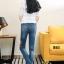 กางเกงยีนส์ทรงเดฟผ้ายีนส์ฮ่องกง thumbnail 2