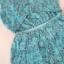 ( พร้อมส่ง) มินิเดรสสีฟ้าสดใส เนื้อผ้า cotton polyester พิมพ์ลาย ช่วงเอวใส่ยางรอบตัว กระโปรงตัดต่อผ้าเป็นชั้นชั้นระบายรอบตัว ดีเทลด้านหลังเว้าใช้เทคนิด cut-out thumbnail 9