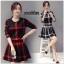 เสื้อผ้าเกาหลีพร้อมส่ง ชุดเซ็ทเสื้อกระโปรงไหมพรมน่ารักๆ thumbnail 5