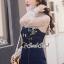 เสื้อผ้าเกาหลีพร้อมส่ง Pinky Flora Stick Cami Denim Dress Set thumbnail 5