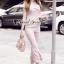 เสื้อผ้าเกาหลีพร้อมส่ง T-Shirt Lace Sweet Pastel Set thumbnail 5