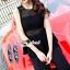 เสื้อผ้าเกาหลีพร้อมส่ง งานสวยหรูลุคสาวไฮคลาส ด้วยจั้มสูทกางเกงมีให้เลือก 3 สี thumbnail 7