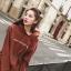ชุดเดรสเกาหลีพร้อมส่ง มินิเดรส(เสื้อตัวยาว) ผ้ายืด thumbnail 12