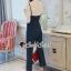 เสื้อผ้าเกาหลีพร้อมส่ง งานเซ็ทเก๋ๆ ทรงสวยด้วยจั้มสูทกางเกง thumbnail 4